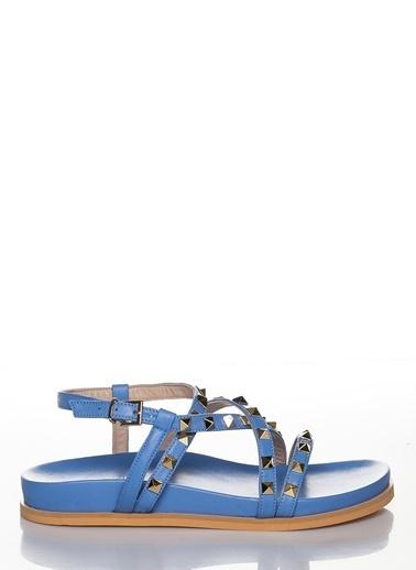 Efem Sandalet Mavi